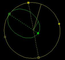 Discovery's orbit position as of Dec 25, 2012